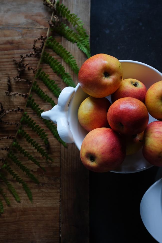 silky apple pie