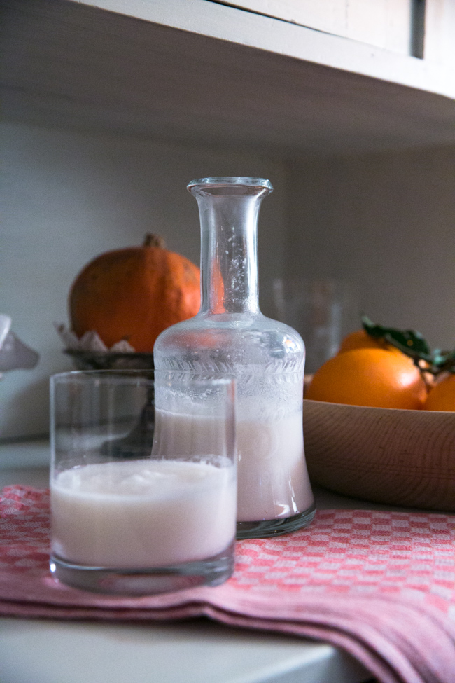 homemade coconut milk