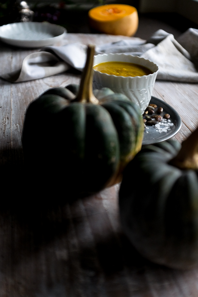 pumpkin and banana soup