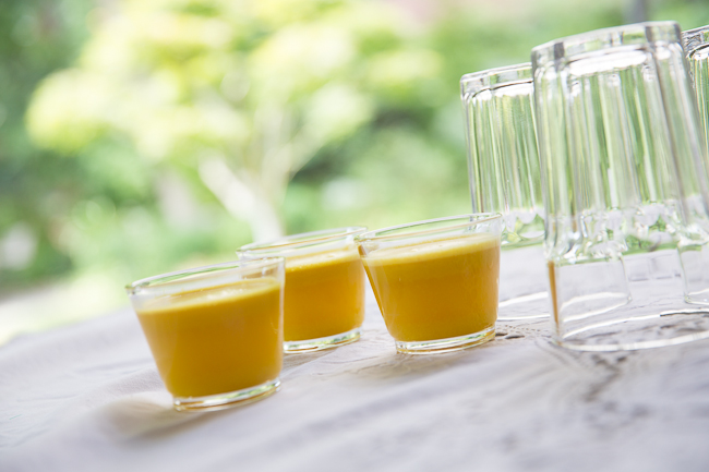 ginger turmeric shots