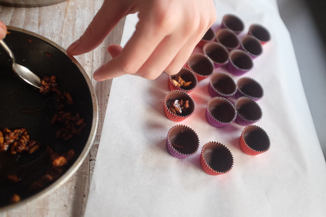 snickers truffles